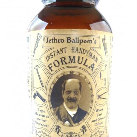 "Jethro Ballpeen's ""Instant Handyman Formula"""