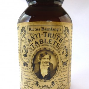 Rictus Barnfang's  Anti-Truth Tablets