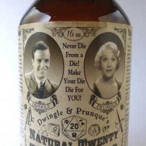 Dwingle & Prunque's Natural Twenty Tablets