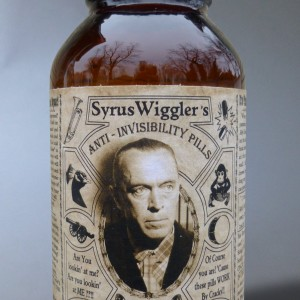 "Syrus Wiggler's ""Anti-Invisibility Pills"""