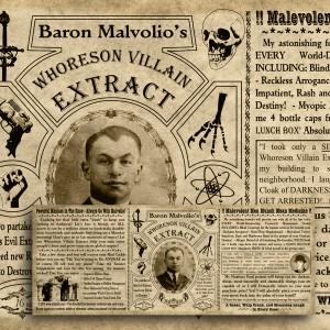 Baron Malvolio – Label Download