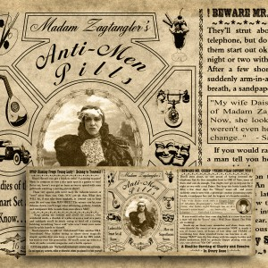 Madam Zagtangler – Label Download