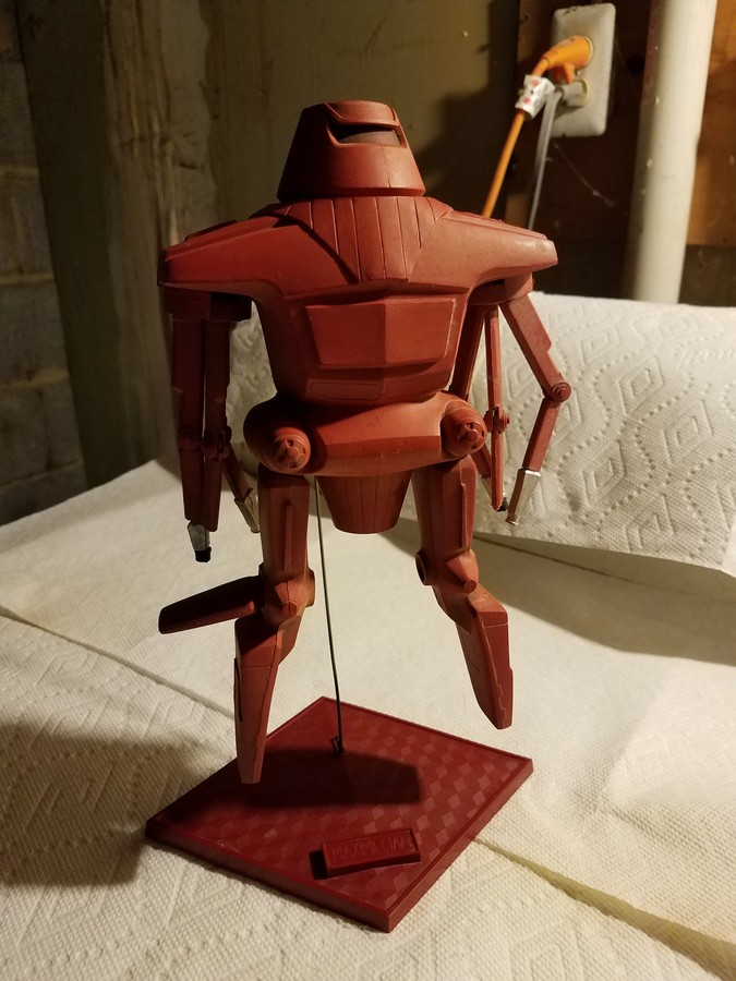 Maximilian plastic model kit.